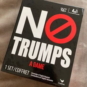 No trumps funny Donald trump party game